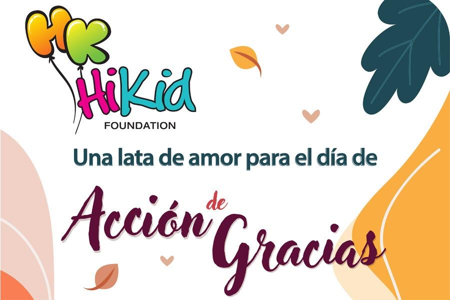 Una Lata de Amor | Acción de Gracias 2020